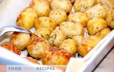 Зачини за компири: пополнете малку повеќе! Готви, пржете, чорти вкусни компири