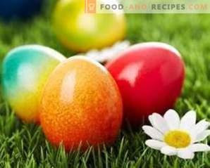 Природни бои за велигденски јајца