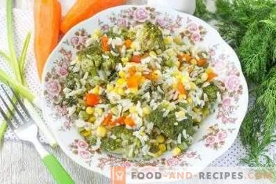 Ориз со зеленчук за гарнитури