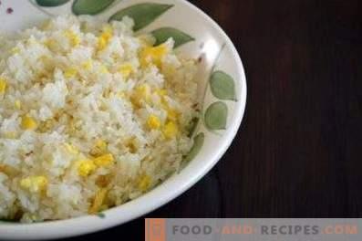 Полнење за пити со јајца и ориз