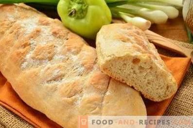 Целулозен леб од брашно во рерната