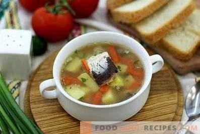 Супа од конзервирана риба