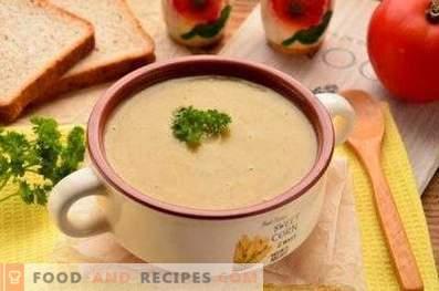 Супа од супа од печурки