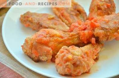 Пилешки крилја како KFC
