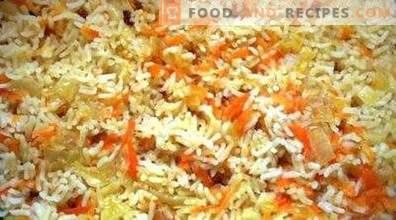 Ориз со моркови и кромид