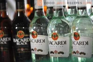 Cómo beber ron Bacardi