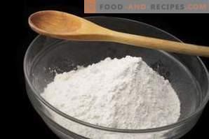 Како да го замените скроб во печење