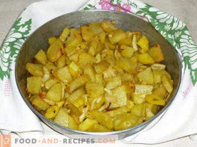 Компири со кромид во рерната