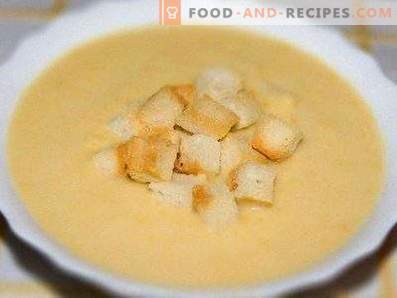 Супа од компир и пилешки крем