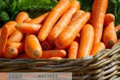 Моркови: придобивки и штета на телото