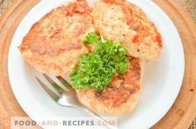 Albóndigas con verduras en el horno