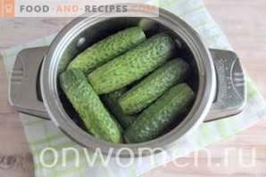 Солени краставици со ѓумбир