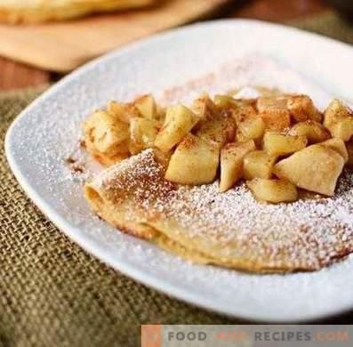 Полнење за палачинки од јаболка