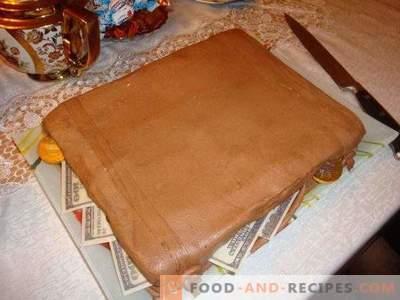 Мастика од чоколада бела мастика