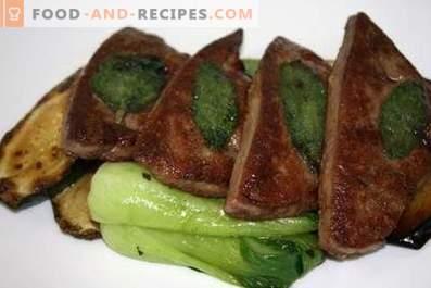 Како да се готви свинско црниот дроб