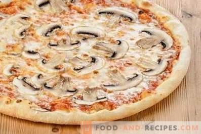 Шампињон пица
