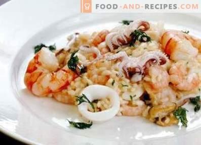 Рижото морска храна
