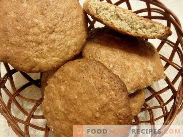 Овес колачиња дома