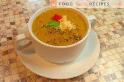 Супа од модар патлиџан