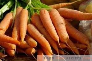 Како да се замрзне моркови за зима