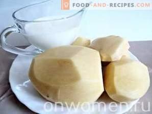 Пире од компири со млеко