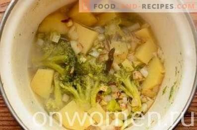 супа од супа од брокула