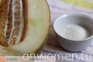 Confiture de melon pour l'hiver