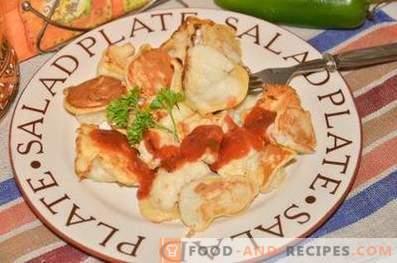 Карфиол со пилешко во тесто