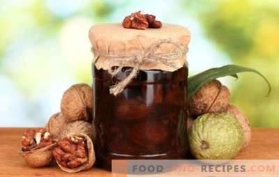 Џем од вар без ореви е вкусен и здрав деликатес. Како да направите различни видови на џем од ореви без вар?