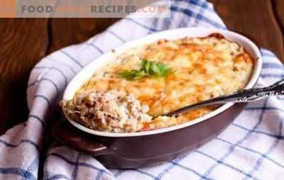 Леќата со мелено пилешко е здраво јадење. Најдобрите рецепти за леќата со мелено пилешко со зеленчук, печурки, сирење