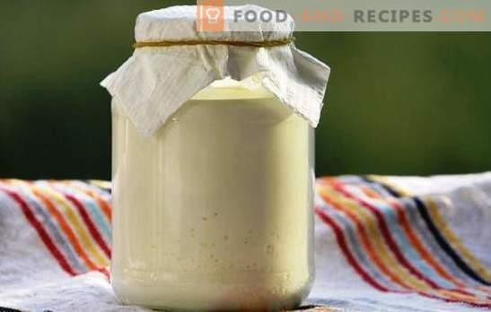 словенски сос: кисела павлака од млеко - рецепти дома. Корисни факти за кисела павлака од млеко, рецепт за природен производ
