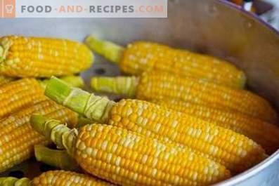 Corn: health benefits and harm