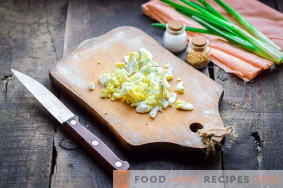 Тифани салата - класичен рецепт