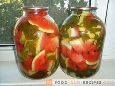 Маринирани лубеници за зима