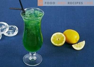 Зелена самовила коктел