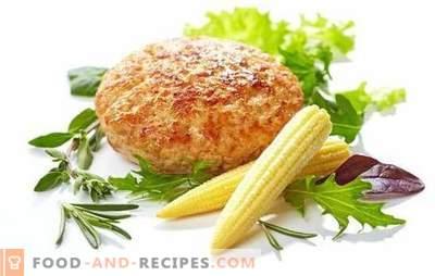 Турски котлети - рецепти за секој ден. Тајните за готвење пареа мисирки, во тава и печка